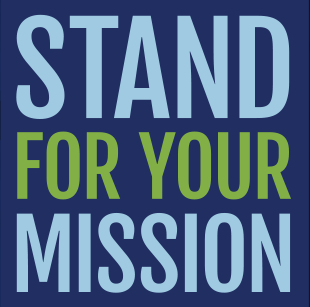 Stand for Your Mission logo