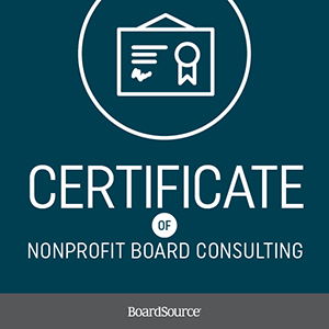 Certificate of Board Consulting