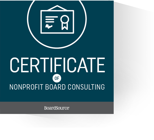 Consulting Certificate