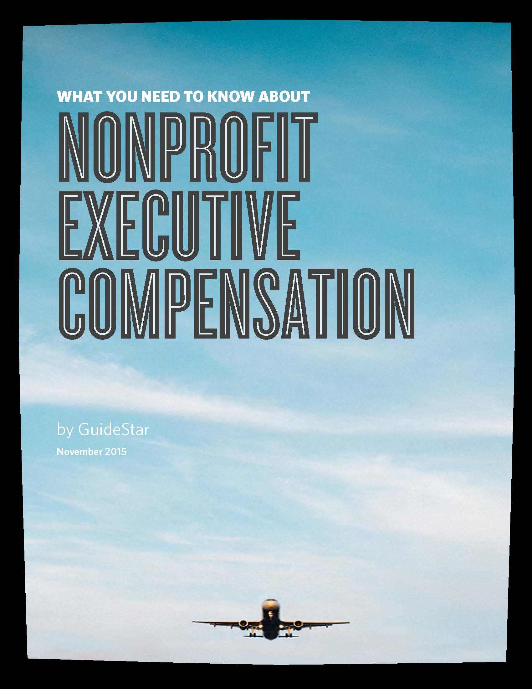 Nonprofit Executive Compensation Cover