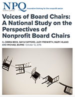 NPQ Voices of Board Chairs Cover