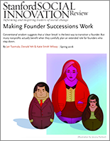 Making Founder Succession Work