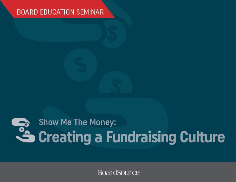 Show Me The Money Seminar Cover