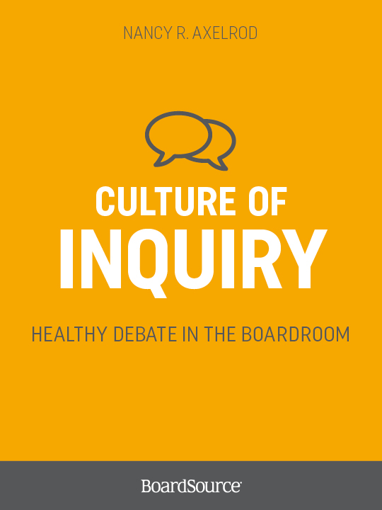 Culture of Inquiry