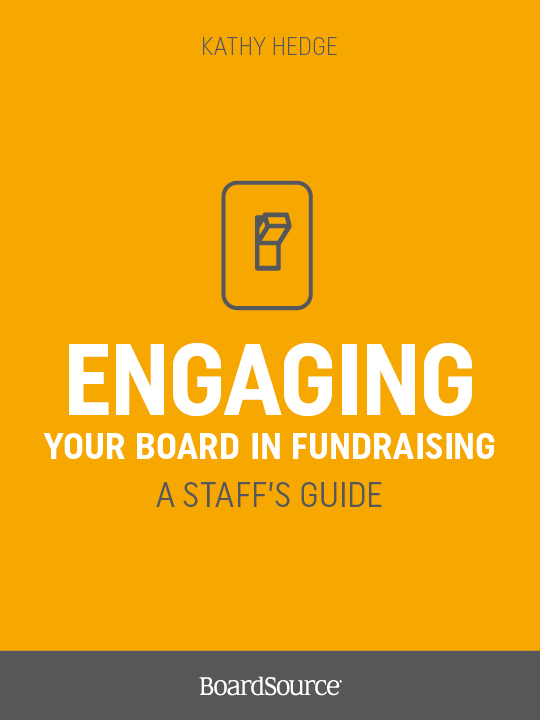 Engaging Your Board in Fundraising
