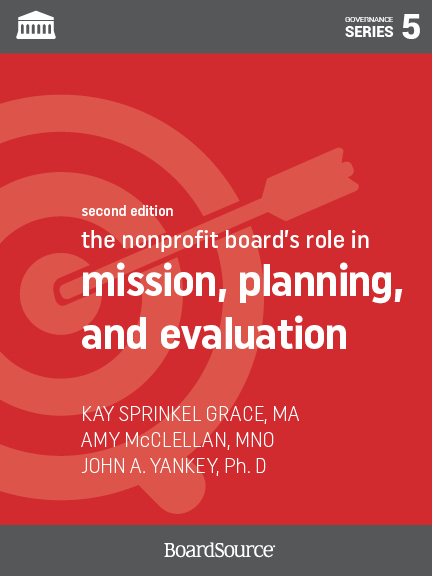 Mission, Planning, and Evaluation