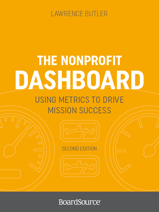 The Nonprofit Dashboard Cover