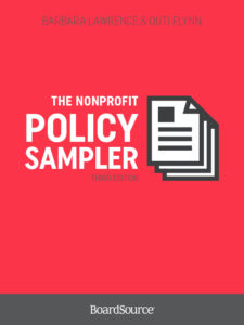 Nonprofit Policy Sampler