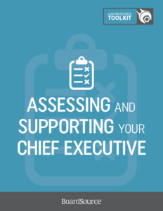 Assessing and Supporting the Chief Executive