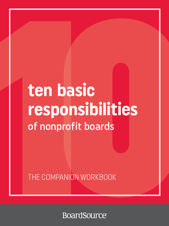 Ten Basic Responsibilities Workbook