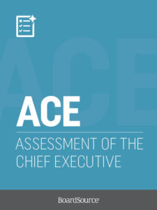 Assessment of the Chief Executive Cover