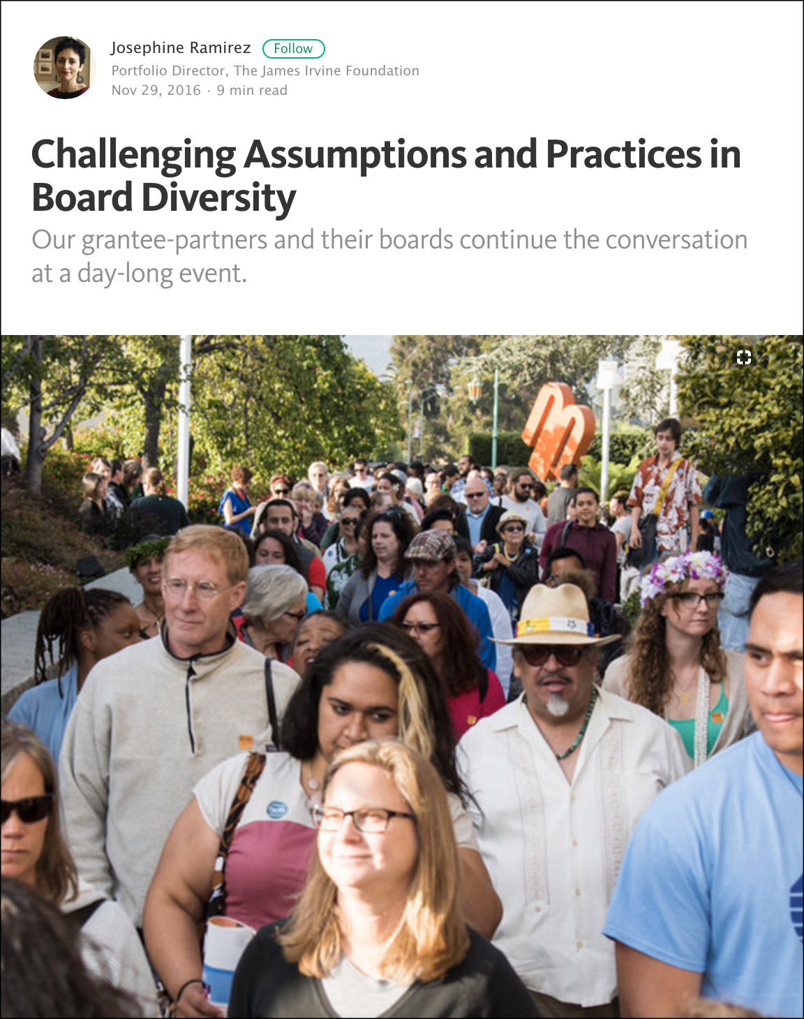 Challenging Assumptions and Practicing Board Diversity