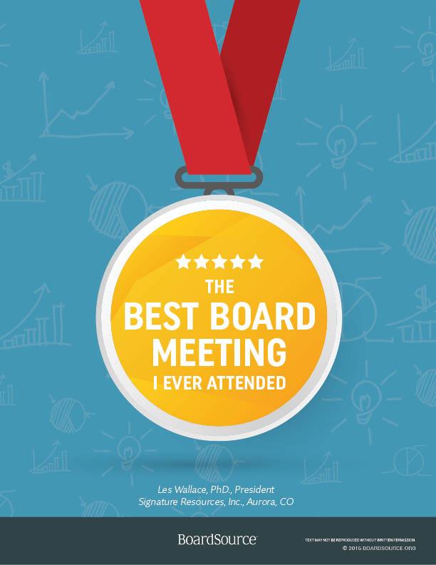 Best Board Meeting Ever