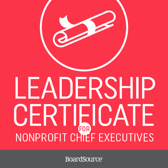 Certificate for chief executives