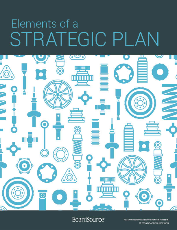 Elements of a Strategic Plan