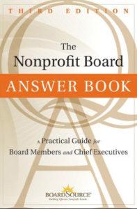 The Nonprofit Answer Book