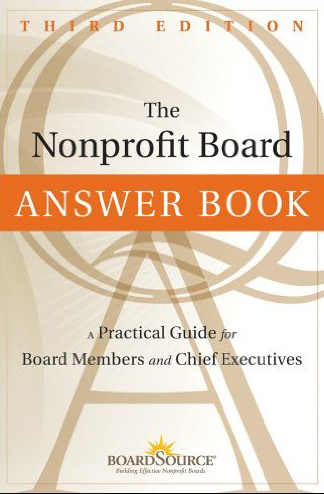 The Nonprofit Answer Book