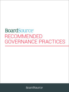 Recommended Board Governance Practices