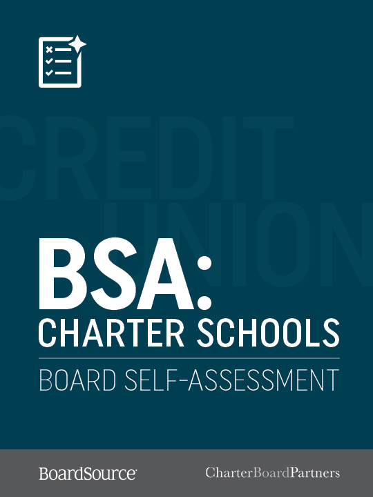 Charter Schools Board Self-Assessment