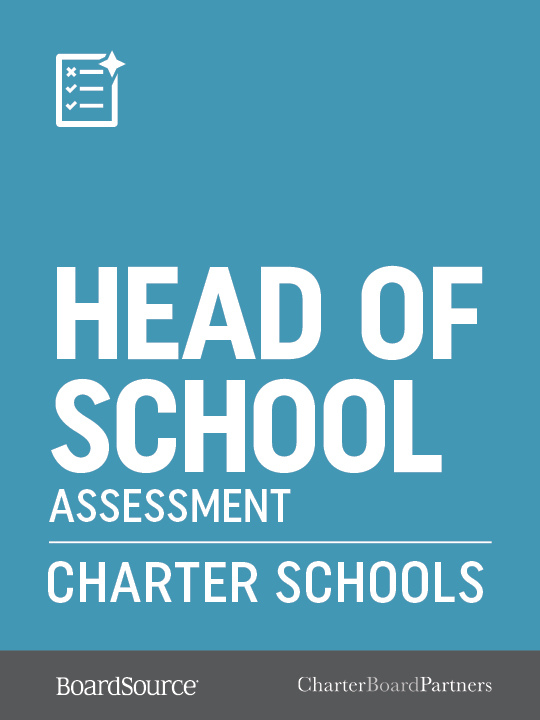 Charter School Head of School Assessment