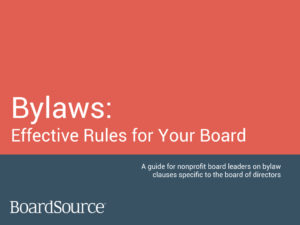Bylaws Guide