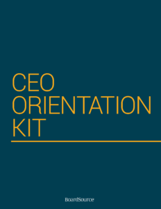 CEO Orientation Kit