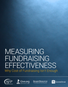 Measuring Fundraising Effectiveness