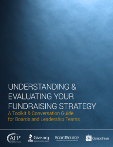 Toolkit - Measuring Fundraising Effectiveness