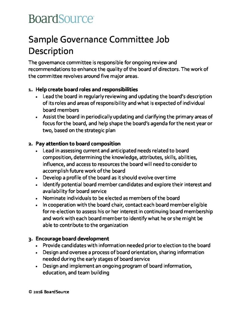 Awesome Governance Charter Template Ideas - Example Resume Templates ...