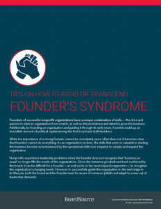 Tips Founder's Syndrome cover