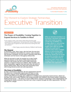 Executive Transition - BoardSource
