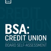 BSA: Credit Unions