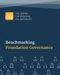 Benchmarking Foundation Governance