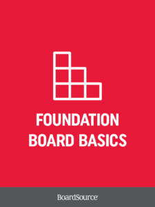 Foundation Board Basics Cover