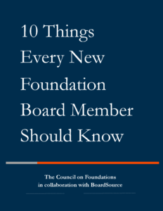 Foundation Resources