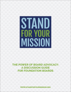 Stand for Your Mission Discussion Guide Cover