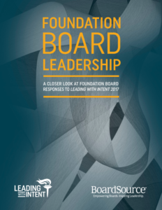 Foundation Board Leadership Cover