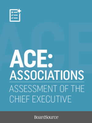 assessment of association executive