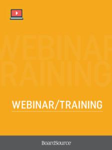 Webinar/Training