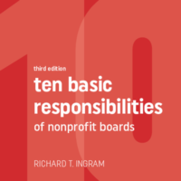 responsibilities of nonprofit boards
