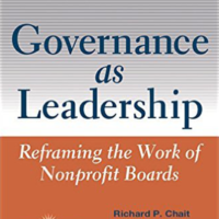 governance as leadership