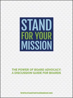 nonprofit board advocacy