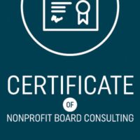 Certificate of Nonprofit Board Consulting