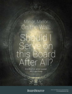 Should I Serve on this Board?