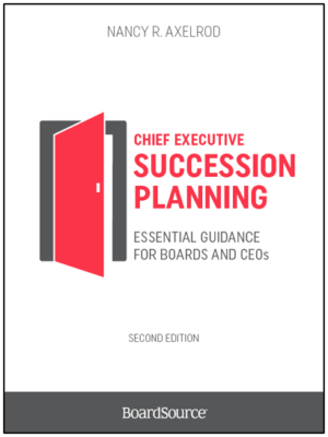 Chief Executive Succession Planning