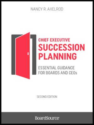 Chief Executive Succession Planning