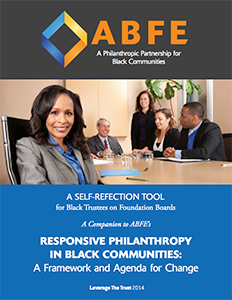A Self-Refection Tool for Black Trustees on Foundation Boards