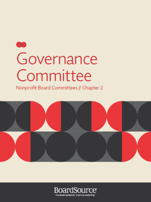 Governance Committee Cover