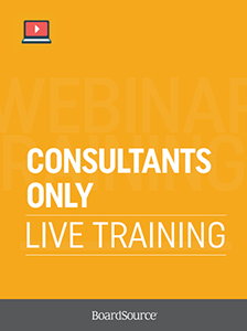 Consultants-Only Live Training