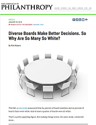 Diverse Boards Make Better Decisions